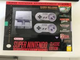 Super Nintendo Classic Edition + 20 Jogos incluídos