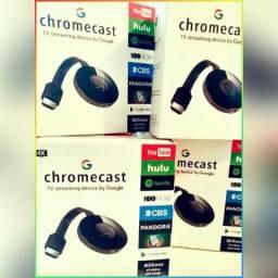 Chromecast Hdmi Smart Tv + Frete Gratis