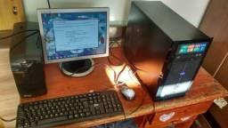 Computador completo ou troco por Notbook