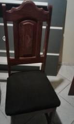 Escrivaninha Madeira Angelim+Cadeira de Angelim