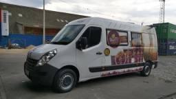 Renault Master completa food truck - 2017