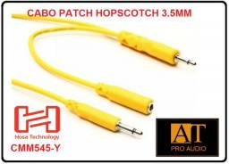 Hosa technology CMM545Y Cabo Patch P2 mono 45cm sintetizador 5 unidades synth