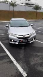 GB - Honda City ELX 1.5, Banco de couro, Cambio automático CVT, Multimídia, Camera de ré - 2017