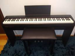 Piano Roland FP-30 BK C/ Móvel e Pedaleira