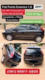 Fiat Punto Essence 1.8 2011 Parcelo em até 60x meses, simulação grátis: (061)99911-5805 - 2011
