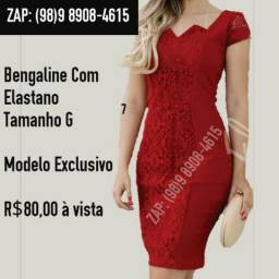 Vestido Feminino Exclusivo Moda Evangélica Executiva