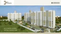 FM - Apartamento com elevador e 3 opções de tamanho + 2 vagas e área de lazer