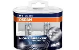 Usado, Lampada Osram Night Breaker Unlimited H1 Par Farol 110%+ Luz comprar usado  São Paulo