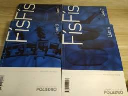 Livros Física Poliedro