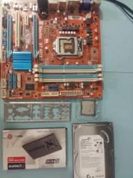 PC i5 3330 + Monitor 17 polegadas Dell
