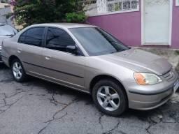 Civic Lx Automático 1.6 2001 Único Dono - 2001
