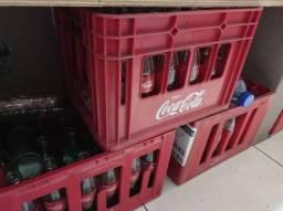 Engradados coca cola KS (290ml) 06 cxs completos