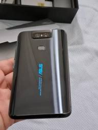 Asus ZenFone 6 128Gb 6Gb ram Qualcomm SDM855 cor black comprar usado  Santos