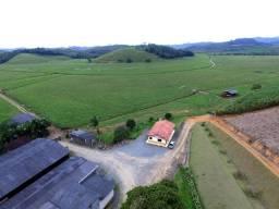 Fazenda 100 hect pronta p gado de leite e corte em Luís Alves /SC