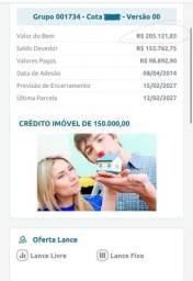 Consorcio credito 205.000 troco por carro