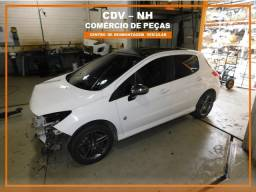 Sucata Peugeot 308 1.6 165cv Gas Aut THP 2014 (Somente Peças)