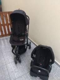 Carrinho e bebe conforto safety