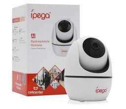 Câmera Ípega Wifi com Rastreamento Humano 1080p KP-CA173