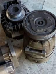 Compressor de ar condicionado do Megane