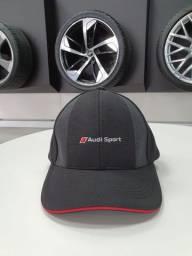 Boné Unissex Audi Sport preto