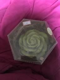 Sabonete decorativo de flor