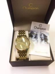 Relógio Feminino Champion com Visor Espelhado