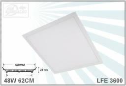 Luminária 62x62cm 4320 lumens 6000k