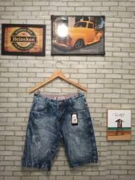 Bermuda jeans primeira linha