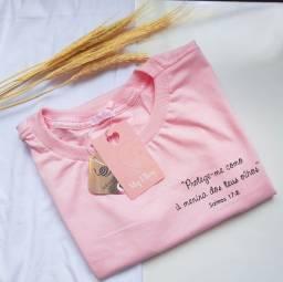 Título do anúncio: PROMOÇÃO ? T-shirt algodão  1 PEÇA 20,00 A PARTIR DE 5 18,00