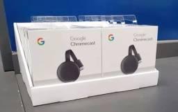 Título do anúncio: Google Chromecast 3 Hdmi 1080P TV Streaming - Loja Dado Digital