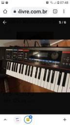 Teclado Roland Sintetizador Juno Di com Cubo Oneal OCB 400
