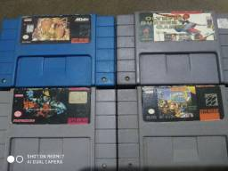 Fitas de Nintendo e Sega