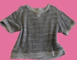 Título do anúncio: Blusa Lã Cinza Opção