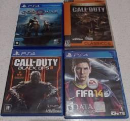 Jogos para PS4 e 1 pra PC