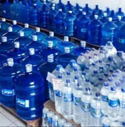 Água mineral galões10 e 20lts