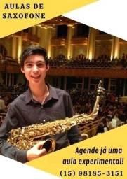 Aulas de Saxofone Semanais