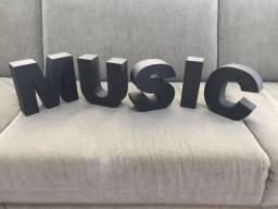 Letras 3D Tok&Stok Music