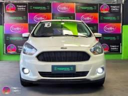 Título do anúncio: Ford KA SE -  1.0 GNV Manual - Branco - 2018