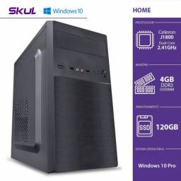 computador dualcore 2.41ghz 4gb ssd 120gb 200w windows10pro