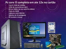 Título do anúncio: PC CORE i5 com 12Gb de RAM semi novo em até 12x no cartao