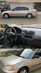 Honda Civic 1.7 LX Dourado - 2002