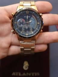 Título do anúncio: Relógios Atlantis Original Aço Inoxidável