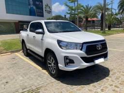 Título do anúncio: Blindada - Toyota Hilux SRV 20/20 - Diesel 4x4 - Automática