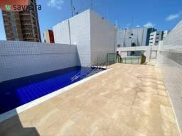 Apartamento com 2 dormitórios para alugar, 60 m² por R$ 2.900,00/mês - Boa Viagem - Recife