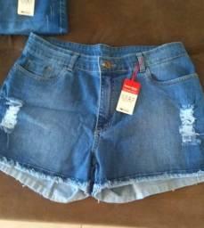 Shorts e bermudas jeans feminino