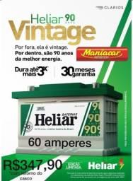 Título do anúncio: Heliar Vintage 60 amperes 30 meses garantia