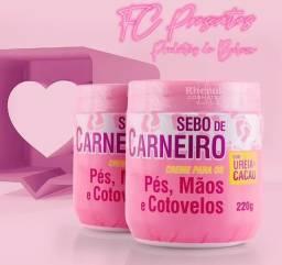 Título do anúncio: Creme Hidratação Profunda Pés E Rachadura Sebo De Carneiro - Rhenuks
