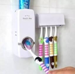 Título do anúncio: Dispenser p/ Creme Dental + Suporte de Escovas -c78