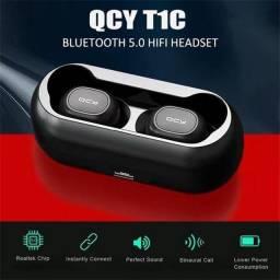 Fone qcy t1c bluetooth sem fio lacrado
