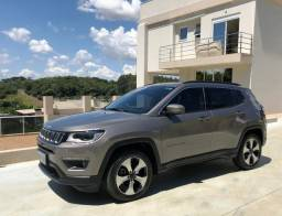 Jeep\Compass 2.0 Longitude flex - Seminovo Única Dona - 2018